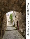 les baux de provence  france   ...   Shutterstock . vector #1057000706