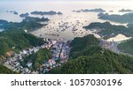 cat ba island from above. lan... | Shutterstock . vector #1057030196