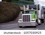 green classic pro american idol ... | Shutterstock . vector #1057030925