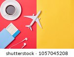 online travel booking concept.... | Shutterstock . vector #1057045208