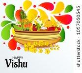 vector illustration of a... | Shutterstock .eps vector #1057050545