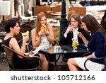 group of happy business... | Shutterstock . vector #105712166