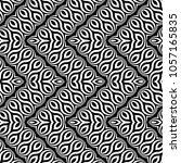 design seamless monochrome... | Shutterstock .eps vector #1057165835