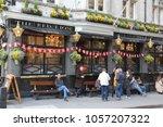 london  uk   april 23  2012 ...   Shutterstock . vector #1057207322