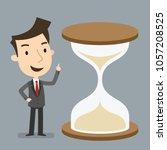 restricted time  deadline  time ... | Shutterstock .eps vector #1057208525