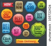 100,advertising,badge,banner,best,business,button,buy,choice,collection,commerce,delivery,design,discount,element
