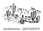 Sketch Of The Desert Of America ...
