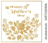 happy mother's day. template... | Shutterstock .eps vector #1057230506