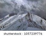 spring snow storms in aspen ...   Shutterstock . vector #1057239776