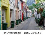 kampongklam singapore september ... | Shutterstock . vector #1057284158
