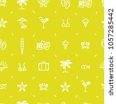 summer vacation pattern with...   Shutterstock .eps vector #1057285442