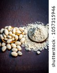 ayurvedic herb kuanch cowhage... | Shutterstock . vector #1057315946