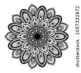 mandalas for coloring book.... | Shutterstock .eps vector #1057332872