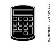 vector calculator icon | Shutterstock .eps vector #1057397822