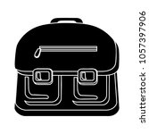 school bag icon | Shutterstock .eps vector #1057397906