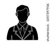 male user icon | Shutterstock .eps vector #1057397936