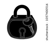 lock icon   security sign | Shutterstock .eps vector #1057400516