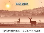 abstract background. forest... | Shutterstock .eps vector #1057447685