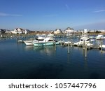 a marina in ocean city maryland | Shutterstock . vector #1057447796