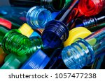 Stock photo multicolored pet preforms for plastic bottles 1057477238