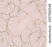 seamless vector pattern elegant ... | Shutterstock .eps vector #1057503548