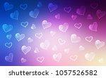light pink  blue vector cover... | Shutterstock .eps vector #1057526582