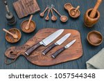 Damascus Kitchen Steel Knives ...