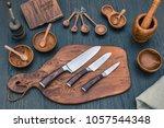 Damascus Kitchen Steel Knives ...