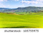 outdoor tuscan val d'orcia... | Shutterstock . vector #105755975