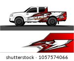 truck graphic kit. abstract ...   Shutterstock .eps vector #1057574066