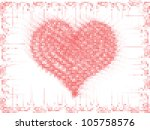 valentine's day background | Shutterstock .eps vector #105758576