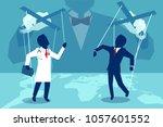 vector concept flat style... | Shutterstock .eps vector #1057601552