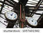 classic watches lyon train... | Shutterstock . vector #1057601582