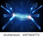 vector abstract super high... | Shutterstock .eps vector #1057603772