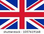 the original flag of united... | Shutterstock .eps vector #1057619168