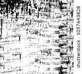 abstract monochrome grunge... | Shutterstock .eps vector #1057643828