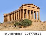 Temple Of Concordia. Agrigento. ...