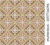 vector seamless pattern  based...   Shutterstock .eps vector #1057716296