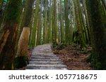 a beautiful walking trail along ... | Shutterstock . vector #1057718675