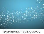 abstract future technology... | Shutterstock .eps vector #1057730972