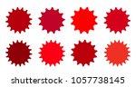 set of vector starburst ...   Shutterstock .eps vector #1057738145