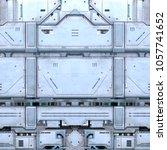 3d cg rendering of the space... | Shutterstock . vector #1057741652