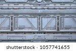 3d cg rendering of the space... | Shutterstock . vector #1057741655