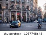 barcelona  spain. march 2018 ... | Shutterstock . vector #1057748648