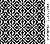 seamless pattern turkish carpet ... | Shutterstock .eps vector #1057773455