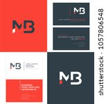 letters m b  m   b joint logo...