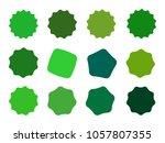 set of vector starburst ...   Shutterstock .eps vector #1057807355