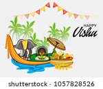 vector illustration of a... | Shutterstock .eps vector #1057828526