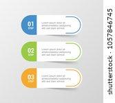 banner infographic design...   Shutterstock .eps vector #1057846745