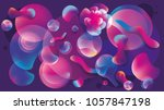 3d abstract vector background...